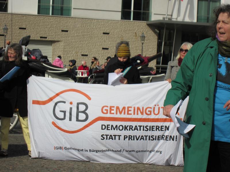privatisierung von wasser in griechenland