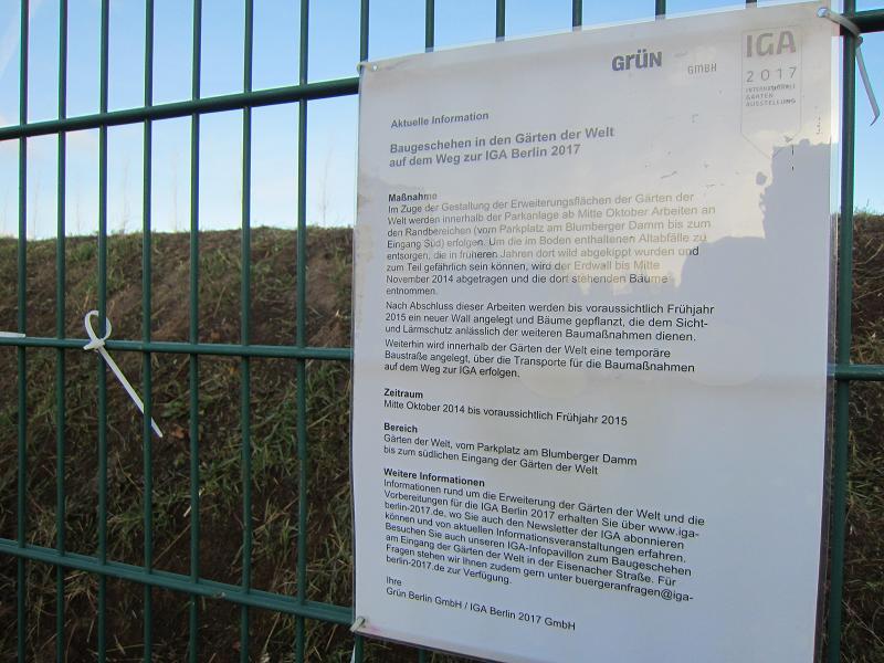 Iga 2017 Berlin Recherche Naturzerstorung Im Namen Der Natur